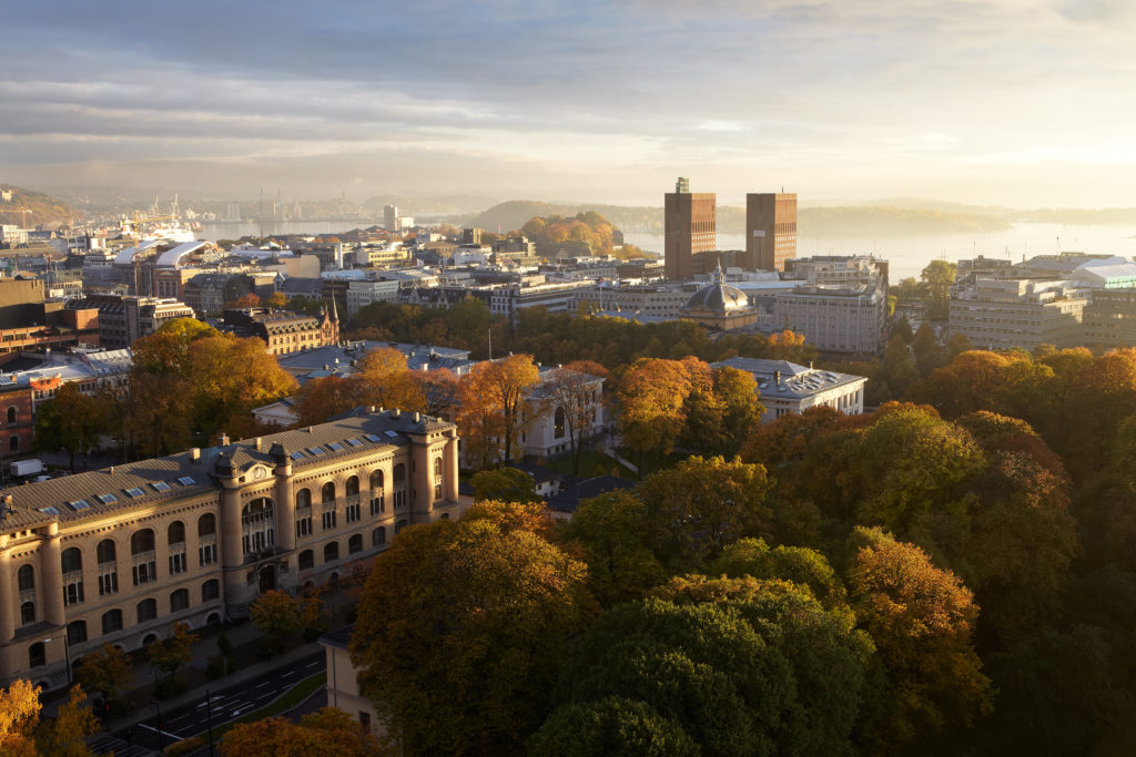 Oslo by i Norge