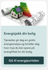 Energianalyse for din eiendom - hos Energiportalen